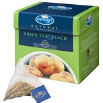 Birchalls Green Tea & Peach Tea Bags
